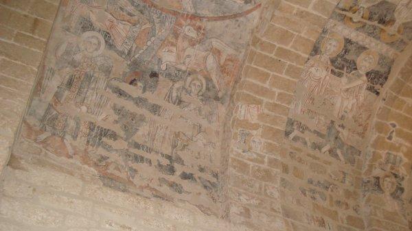 Des fresques de l'an mil