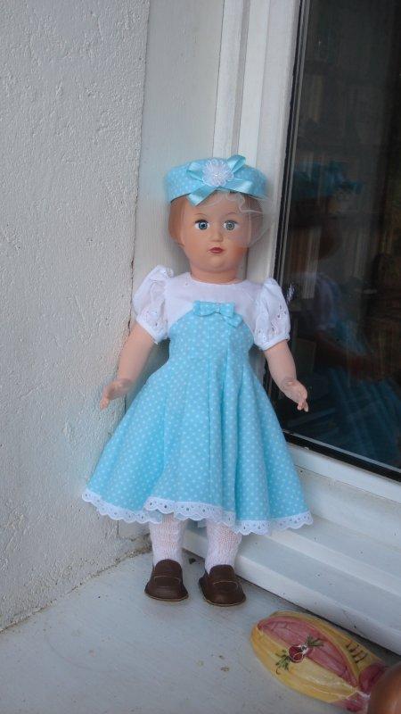 Une robe d'été confectionnée par Dorothée