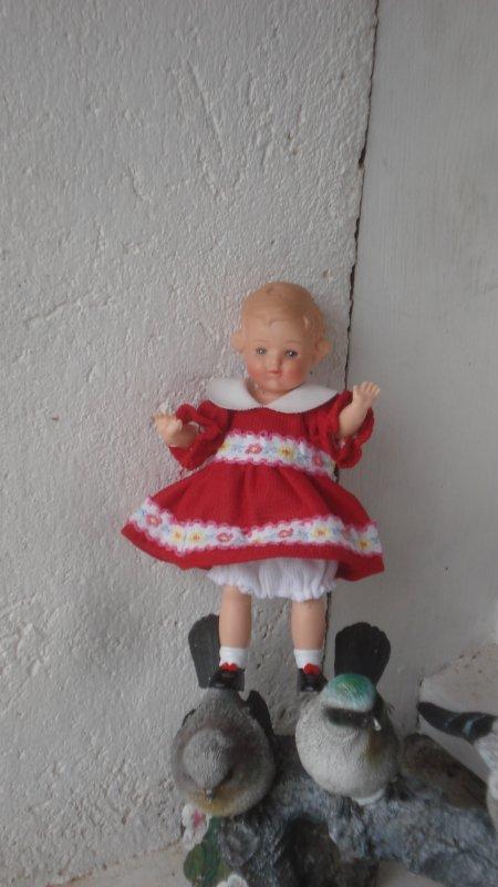Grâce à Marie-Yvonne, ma toute petite étrenne une nouvelle tenue
