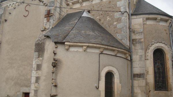 l'église de dos