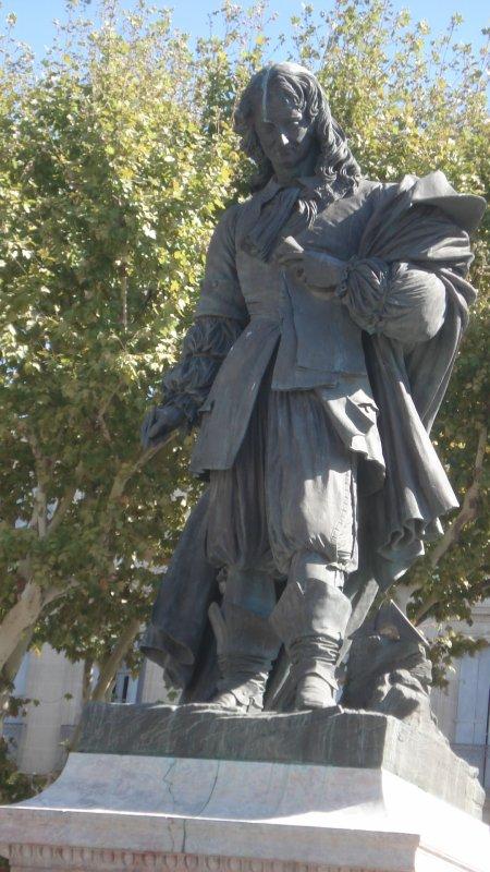 La statue de Paul Riquet