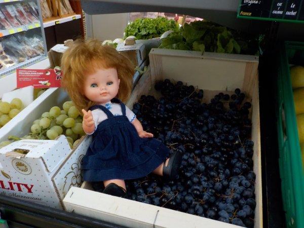 Chez le marchand de fruits