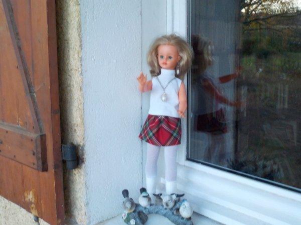 Elle n'est pas de saison mais cathie aime cette tenue