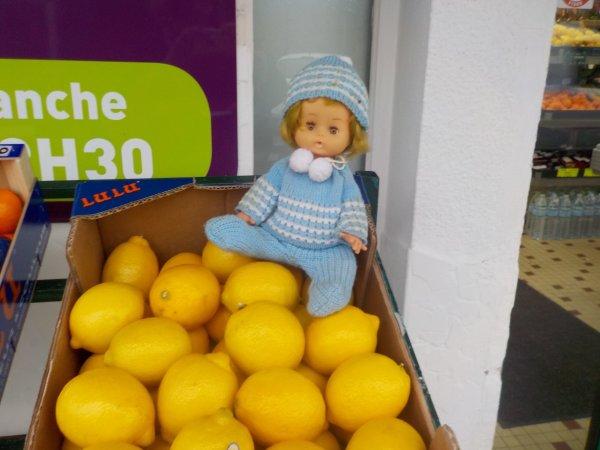 Les citrons ?