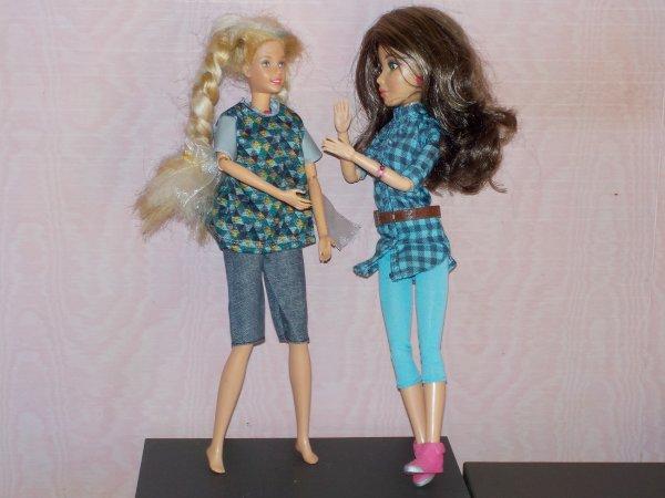 Barbie étrenne une tenue de Ken !