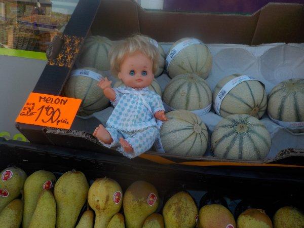C'est bon les melons