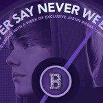 Justin Bieber : un site internet spécial pour la sortie du DVD!
