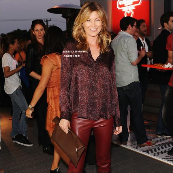 """. Le 13 Mai 2012 -   Ellen assistant à une soirée caritative de la marque de luxe """"Coach"""", à Los Angeles."""