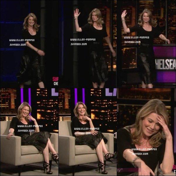 . Le 28 Février 2012 -   Ellen lors du show Chelsea Lately.