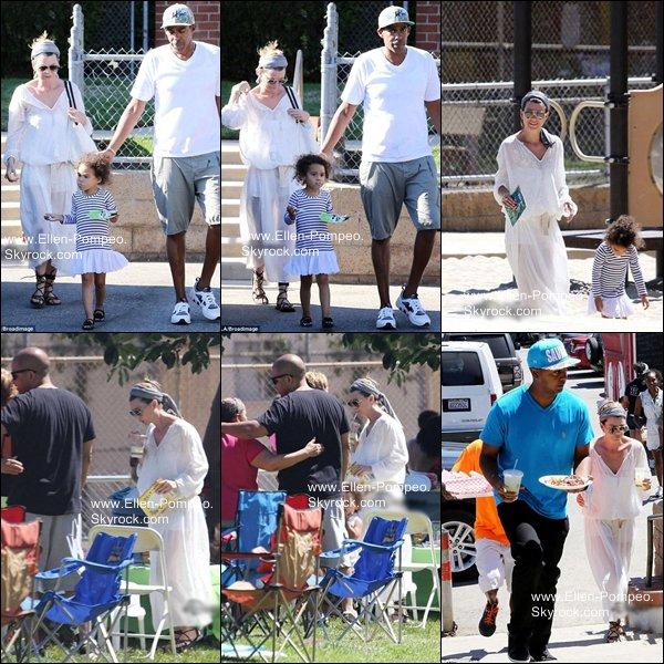 . Le 17 Août 2013 -   Ellen, son mari et sa fille se sont rendu dans un parc à Los Angeles.