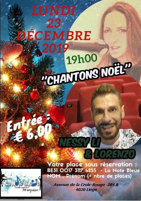 """""""Chantons Noël"""" le 23 décembre 2019"""