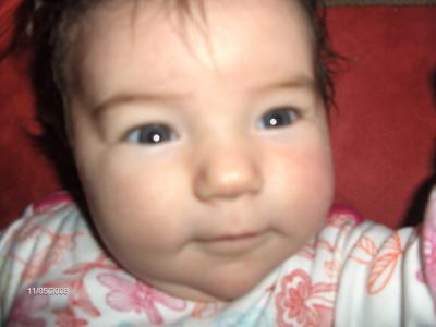 ma petite niece Milla