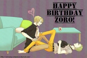 Joyeux Anniversaire Zoro !! ;p