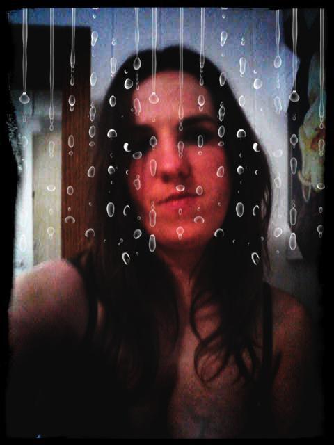 quand je suis sous la pluie