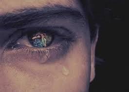un homme ne devrait pas pleurer tout comme une femme