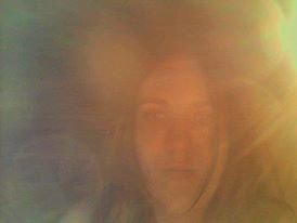 moi dans la lumière