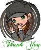 thank you ! merci ! Gracie ! Gracia !!! think think !!! etc.