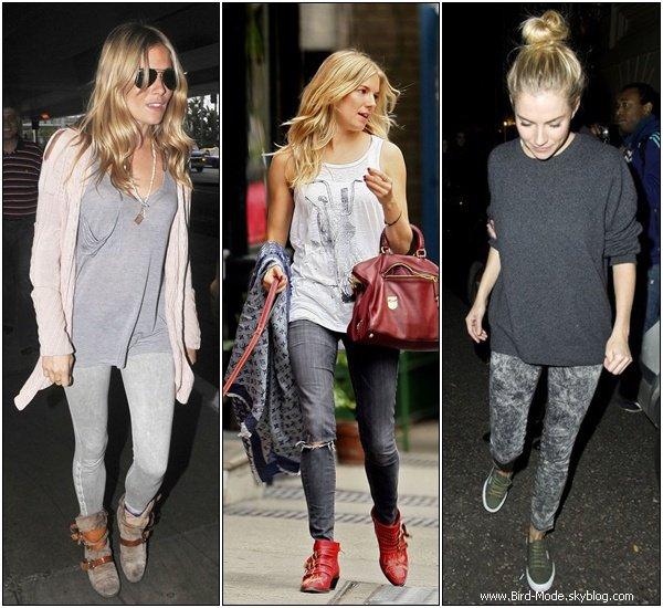 Inspiration Look : Sienna Miller