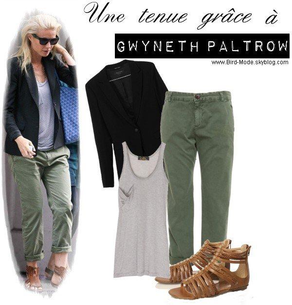 ZOOM sur un look de Gwyneth Paltrow