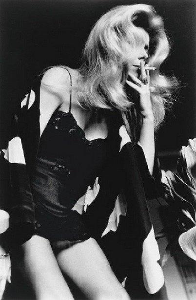 Reine Catherine, photo d'Helmut Newton en 1976