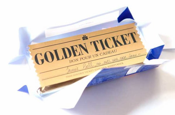 Le Golden Ticket de Cy