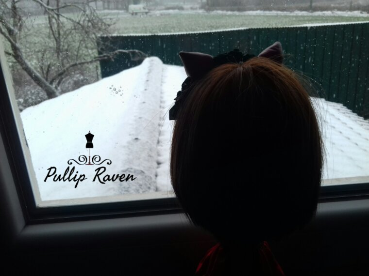 Raven et la neige