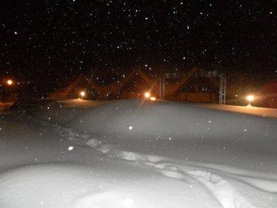 Il est tombé plus de 70 cm de neige... Magnifique...