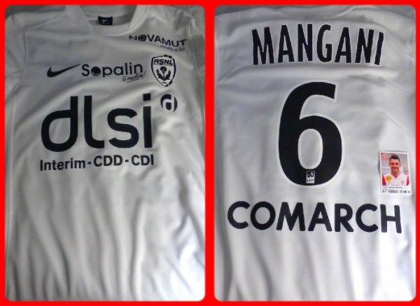 Maillot Mangani ASNL Nancy