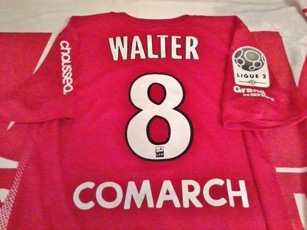 Maillot porté Walter ASNL Nancy