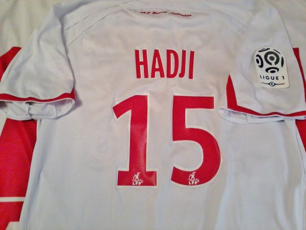 Maillot porté Hadji ASNL Nancy