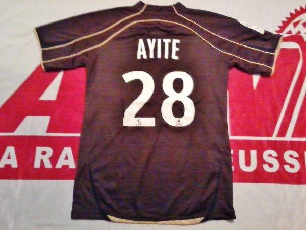 Maillot porté Floyd Ayite ASNL Nancy