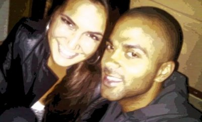 Barbara et Tony Parker