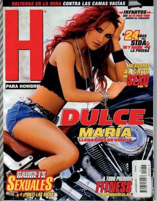 Veja as fotos de Dulce María em uma revista masculina mexicana
