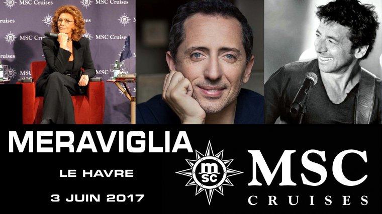 MSC  MERAVIGLIA  Le HAVRE  3 Juin 2017