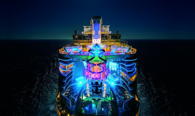 Harmony Of The Seas By Night