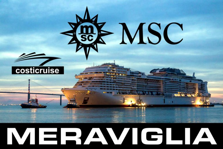 MSC MERAVIGLIA Essais en mer By STX France