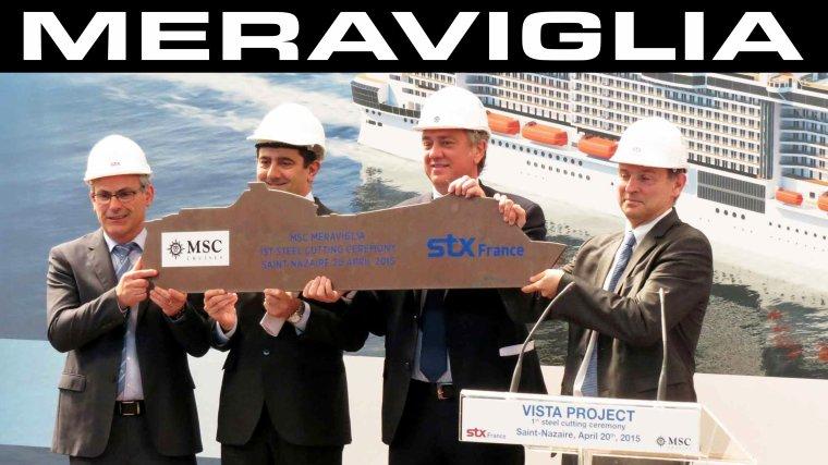 MSC MERAVIGLIA STX France