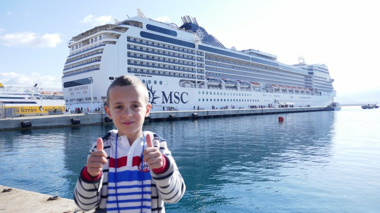 MSC MAGNIFICA   Avril 2017