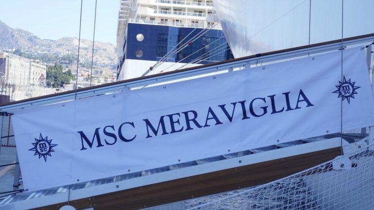 MSC MERAVIGLIA  INAUGURAL CRUISE JUNE 2017