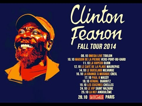 CLINTON FEARON & BOOGIE BROWN BAND - LIVE - FESTIVAL MOZ'AÏQUE (2015)