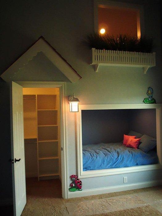 8 Mẫu phòng ngủ sáng tạo tuyệt vời dành cho bé