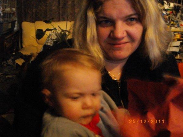 mon fils théo et moi