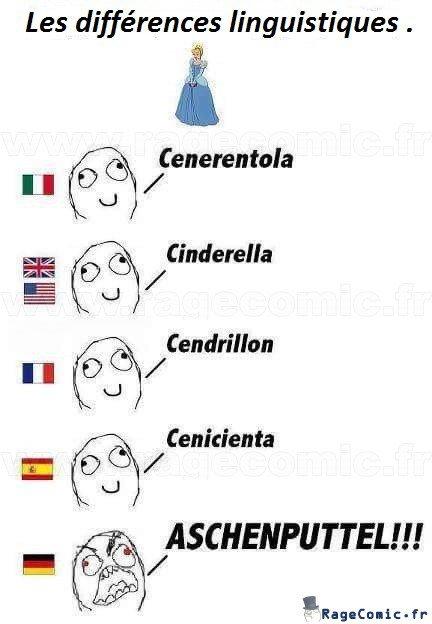 Les différences linguistiques :D