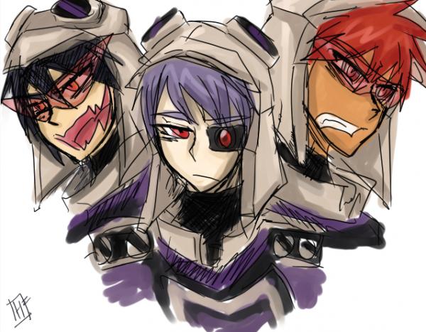 Transformers - Blitzwing humain