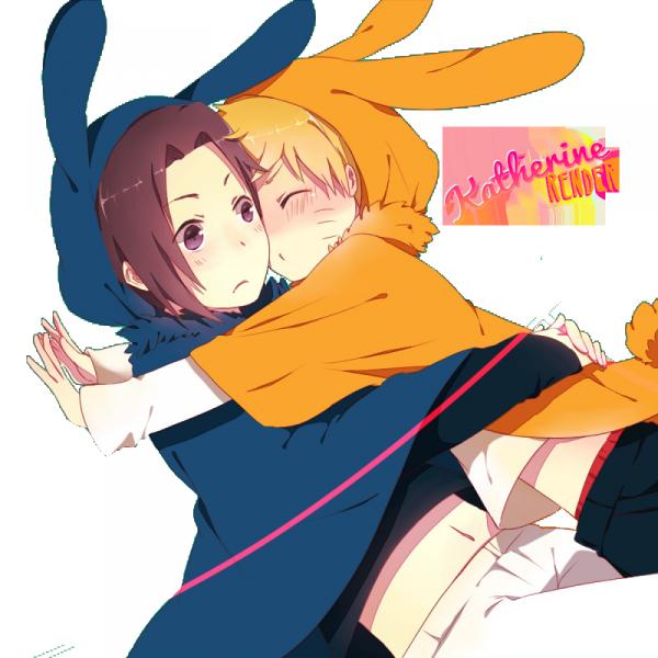Usagi SasuNaru !!