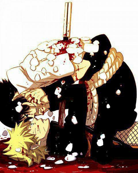 Si tu meur je mourais avec toi #SasuNaru