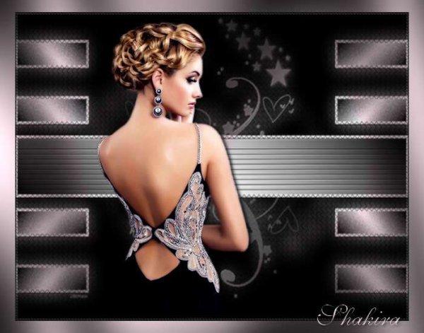 Magnifique création de Shakira.