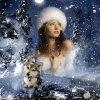 Reine des neiges.