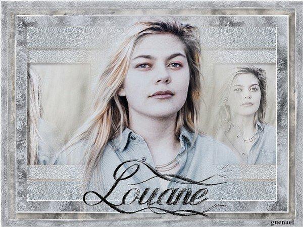 La belle Louane.