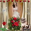 Belles roses.